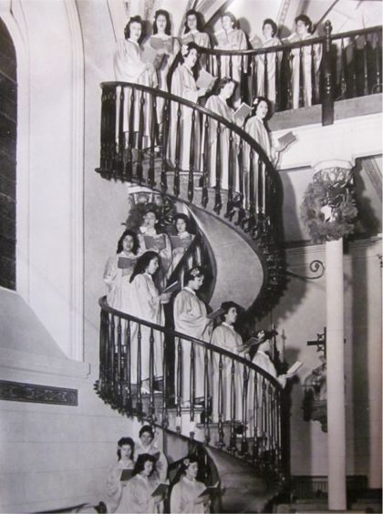 The Miraculous Staircase of Loretto, N.M.